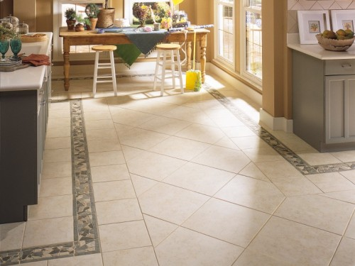 When we choose the right the tile the whole room comes together.